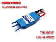 Hobbywing-Platinum-40A-PRO Brushless Speed controller ESC