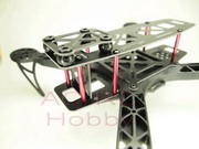 Quadcopter Mini Air frame  KK260 with 5V BEC LED Modules