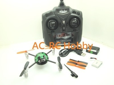 Walkera QR New Ladybird V2 UFO Quadcopter with Devo 4 Transmitte