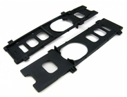 2 X Durable Plastic Bottom Plate