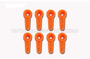 Breakable Micro Servo Horns for Hitec 65MG (Orange)