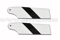 3K Carbon Fiber Tail Rotor Blades for 450 Helicopter