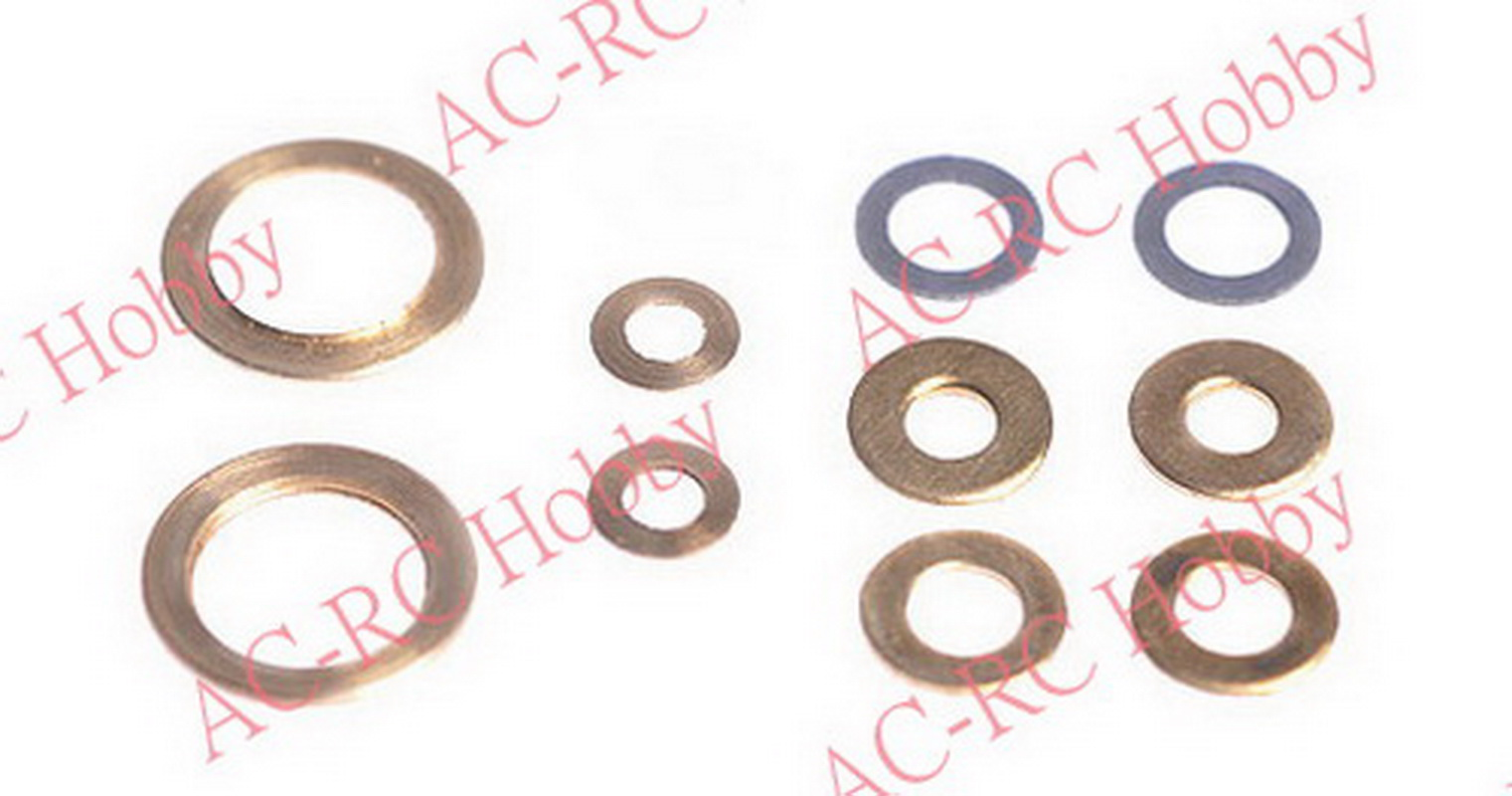 Main Frame Washer Set Metal 2mm~5.5mm