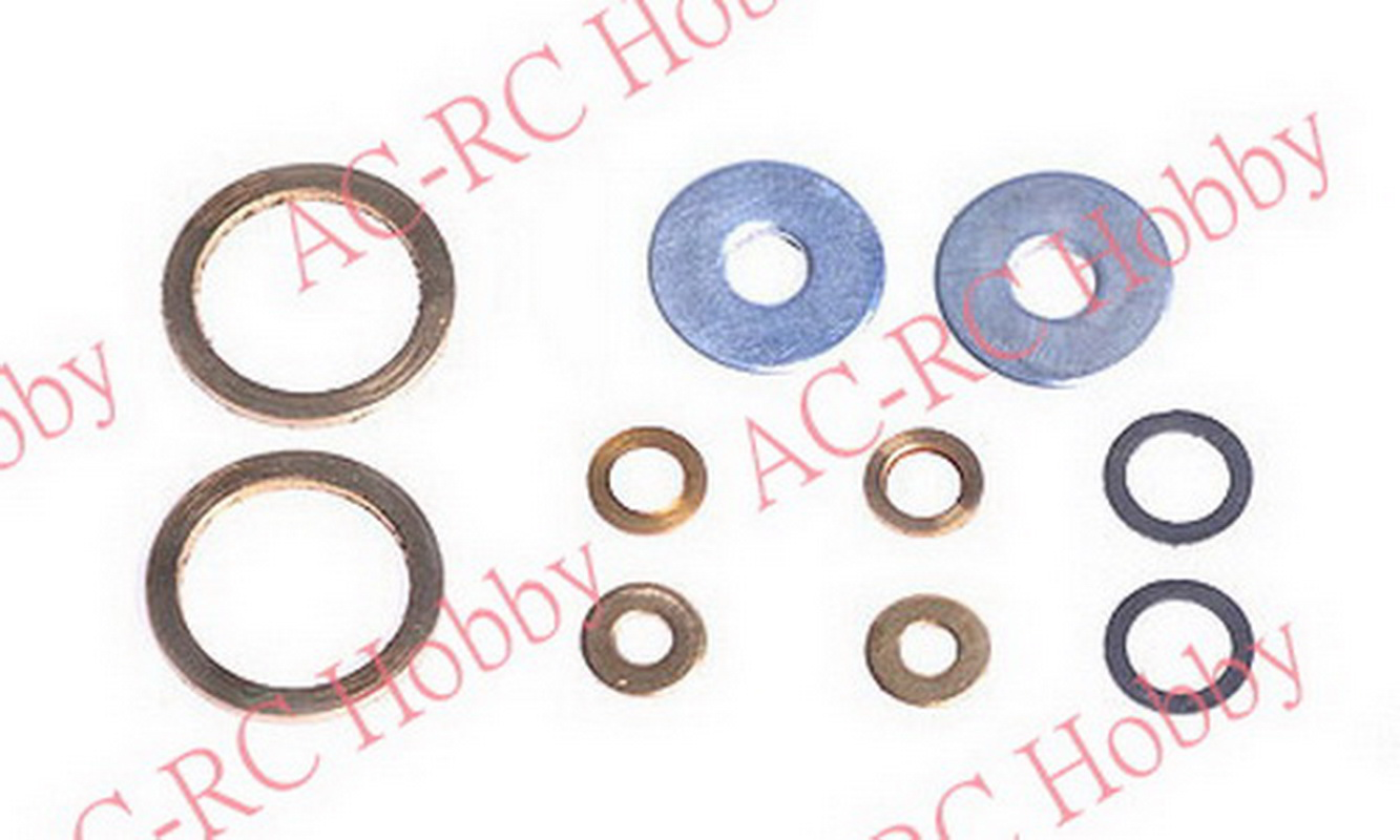 Main Frame Washer Set Metal 2mm~9mm