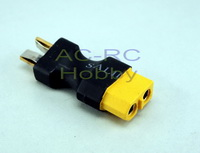 XT60  Female to  Deans T-Plug male connector