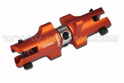 450 Pro Metal Tail Holder Set with Thrust Bearing (Orange)