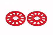 500 Slant Thread main drive gear (134T) Red