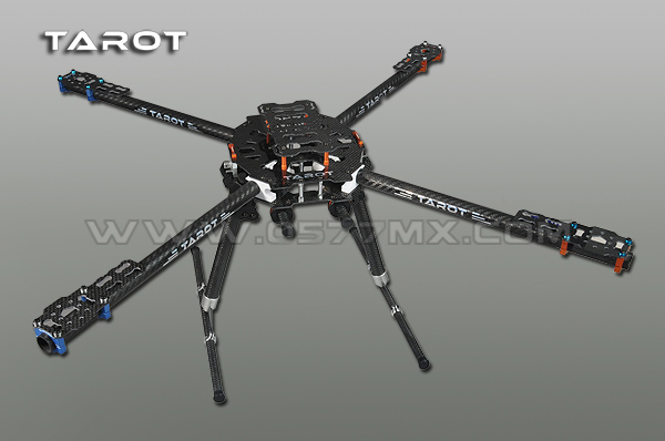 650 Hexacopter Carbon Boom Version